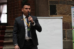 Marek Reich z Agrii Polska poświęcił swoja prezentację zastosowaniu kondycjonerów wody.