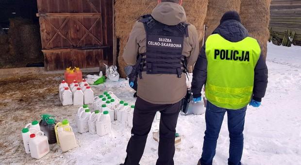 Pół tony pestycydów z przemytu ukryte w stodole