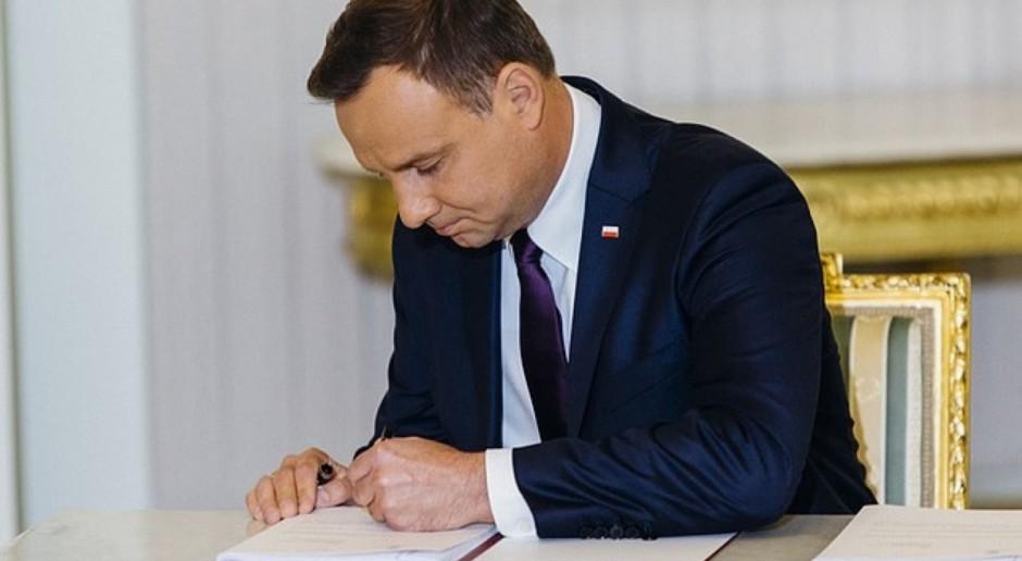 Ustawa o postępowaniach ws. pomocy publicznej z podpisem prezydenta