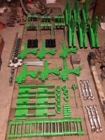 Na początku wszystko zostało dokładnie zaprojektowane. Wycięcie metalowych elementów zostało wykonane na obrabiarkach numerycznych. Spawanie i malowanie – we własnym zakresie, fot. P. Pietrzak