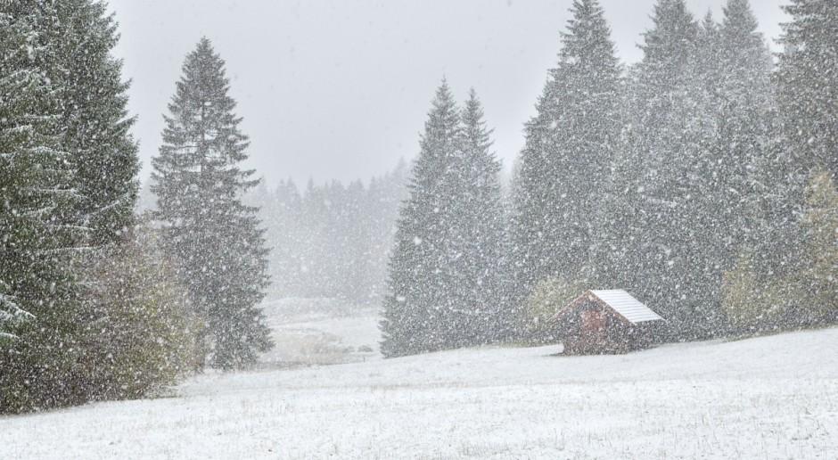 Ze względu na opady śniegu prawie 5 tys. odbiorców bez prądu w Podkarpackiem