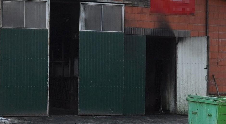 Milionowe straty w pożarze gospodarstwa