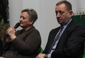 Z zarzutami rolników musieli zmierzyć się wiceminister Ewa Lech i poseł Robert Telus.