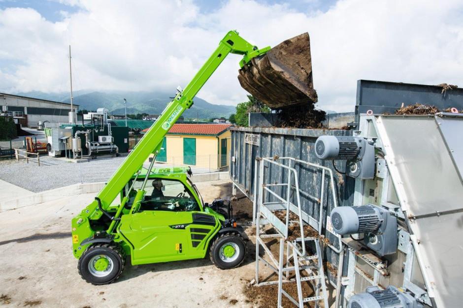 W naszym zestawieniu ładowarka Merlo P27.6 plus potrafi podnieść największe ładunki na największą wysokość...
