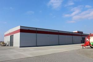 Nowa hala ma powierzchnię 2 tys. metrów kwadratowych i kosztowała ponad 5 mln zł.