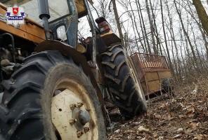 Rolnika przejechał własny ciągnik