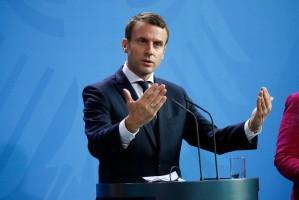 Prezydent Macron wygwizdany przez rolników