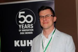 Szymon Paterka, Product Manager, KUHN-Maszyny Rolnicze