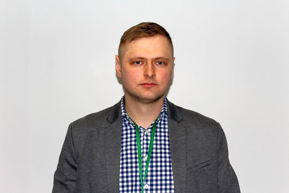 Emil Sobiecki - producent trzody z gminy Jabłoń i uczestnik wczorajszego protestu.