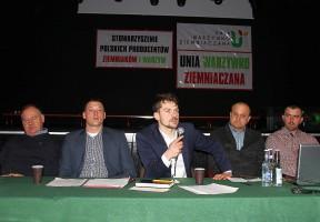 Michał Kołodziejczak przekonywał, że protesty są konieczne, skoro wszelkie apele i próby mediacji kończą się fiaskiem.