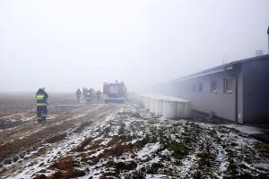 Strażakom udało się ocalić drugi budynek.