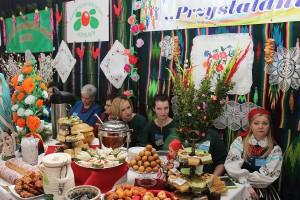 Obchodom towarzyszyły prezentacje regionalnych potraw i produktów tradycyjnych