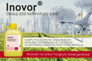 Dystrybutorem fungicydu Inovor® jest Agrolok Sp. z o.o.