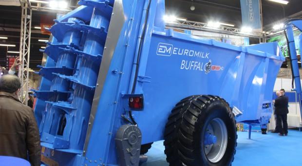 Duży rozrzutnik - Euromilk prezentuje Buffalo RX2000 HD