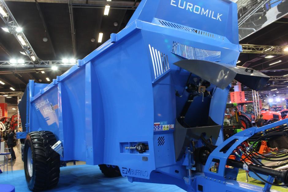 Przedsiębiorstwo Euromilk pierwszy rozrzutnik obornika Buffalo wyprodukowało w 2013 roku, fot. ArT