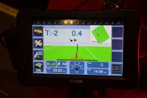 Sterowanie rozsiewaczem może odbywać się przy pomocy komputera Patchwork, wyposażonego w dotykowy, 7-calowy ekran