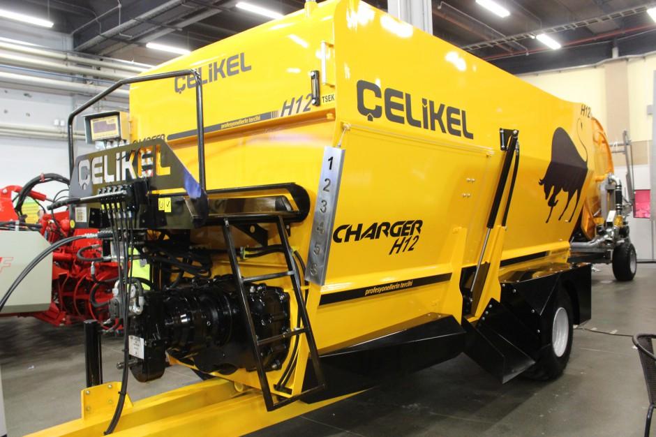 Paszowóz Celikel Charger H12 o pojemności 12 m3, fot. ArT