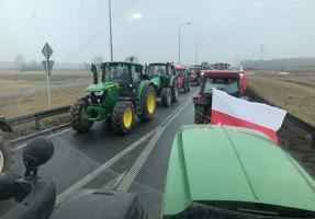 Protest miał możliwie łagodne skutki dla kierowców. Rolnicy nie chcieli im utrudniać życia.
