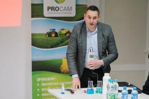 Krzysztof Zdrojewski, przedstawiciel firmy Adob, fot. Procam