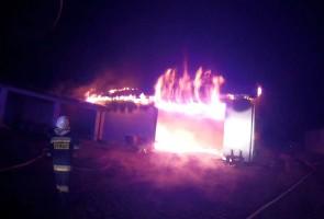 23 marca br. w Potoku w ogniu stanęły budynki gospodarcze.