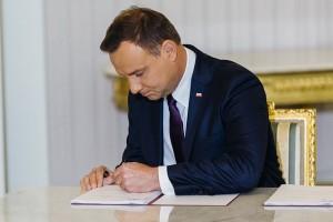 Prezydent podpisał ustawę o spisie rolnym w 2020 roku
