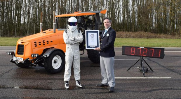 Nowy rekord prędkości ciągnika!