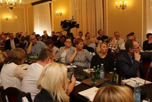 Zainteresowanie konferencją było duże -– gości trzeba było rozmieścić w dwóch sejmowych salach