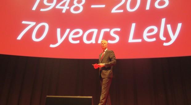 Jubileusz firmy Lely z premierą dwóch produktów
