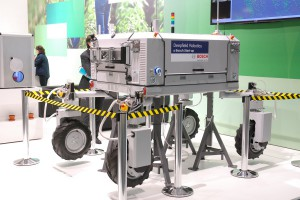 Robot, którzy powstał dzięki zaangażowaniu firmy Bosch; fot. GS