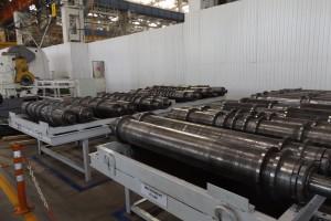 Obrabiane są tutaj wszystkie stalowe elementy, które wykorzystywane są w maszynach Rostselmash