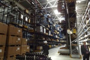 Firma posiada również ogromny magazyn części zamiennych