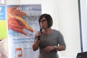 dr Urszula Teter z firmy Cid Lines