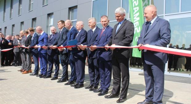Nowa fabryka SaMasz oficjalnie otwarta