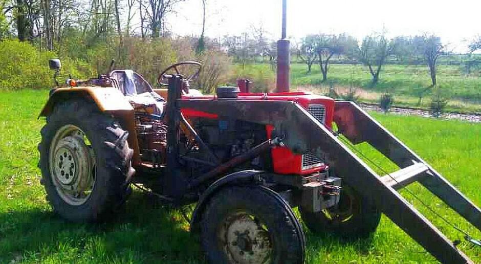 Rekordzista na traktorze. W alkomacie zabrakło skali