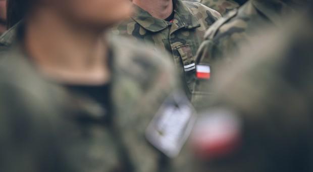 Żołnierze szukają padłych dzików na Suwalszczyźnie
