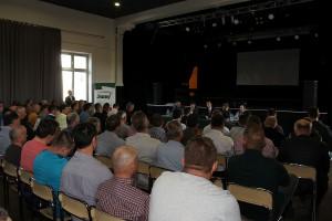 Na spotkanie w Błaszkach przybyło ponad 200 rolników, nie tyko z powiatu sieradzkiego.