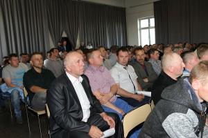 Wśród gości znaleźli się również rolnicy z gminy Ostrówek, którym zagraża planowane uruchomienie odkrywki węgla brunatnego pod Złoczewem.