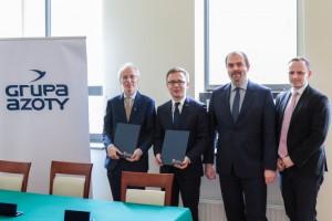 Uniwersytet Jagielloński i Grupa Azoty podpisały porozumienie o współpracy