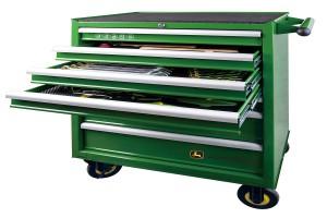Wózek narzędziowy przeznaczony do modeli 7R i 8R/RT i 9R/RT/RX
