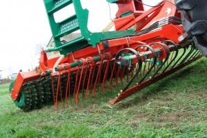 Elementy robocze agregatu do podsiewu traw, fot. ArT