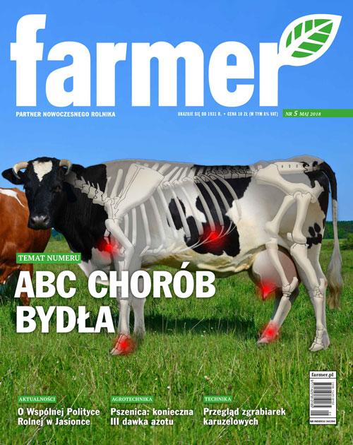 okładka numeru miesięcznika Farmer nr 5/2018