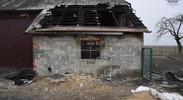 Nastoletni podpalacz - dwukrotnie podpalił tą samą stodołę