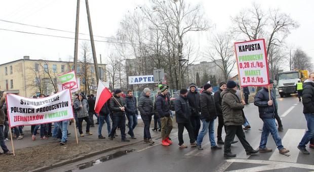 Rolnicze protesty w woj. łódzkim, wielkopolskim i podlaskim