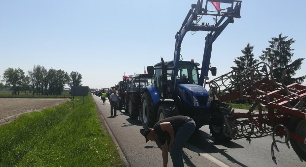 Rolnicy z Pomorza Zachodniego również protestują