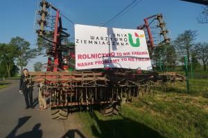 Protestujący rolnicy chcą przyjazdu do nich premiera albo ministra rolnictwa