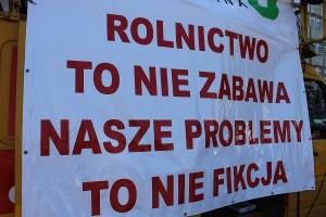 To przewodnie hasło rolniczych protestów z 9 maja br.