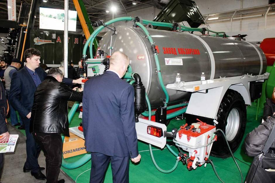Na targach Grain Tech Expo w Kijowie