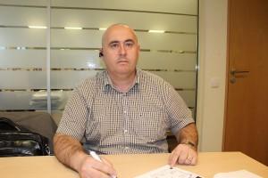Vladyslav Ivanov, przedstawiciel firmy Legat w Warszawie. Foto: GT