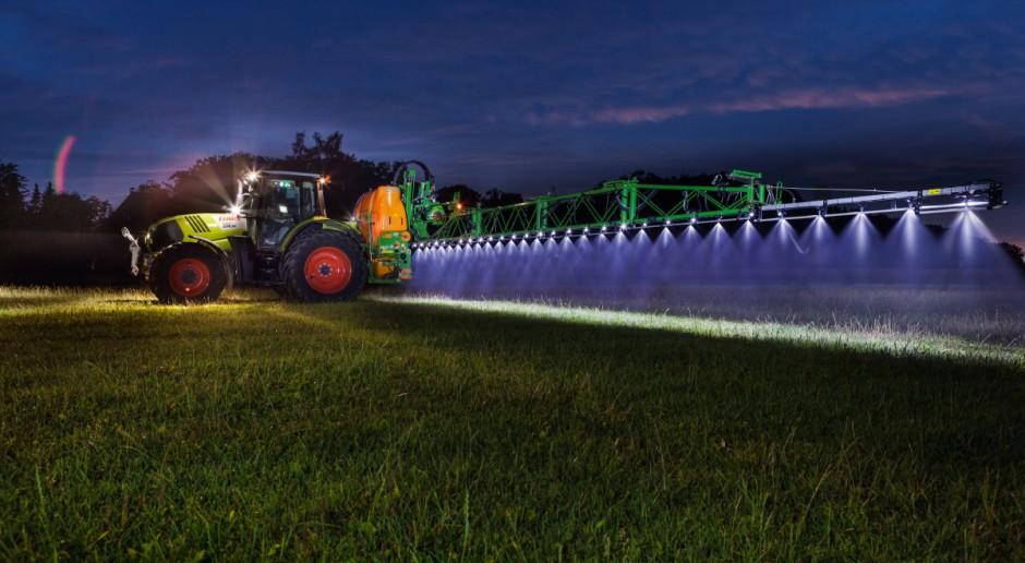Oświetlenie belki opryskiwacza - lampy, a może taśmy LED?