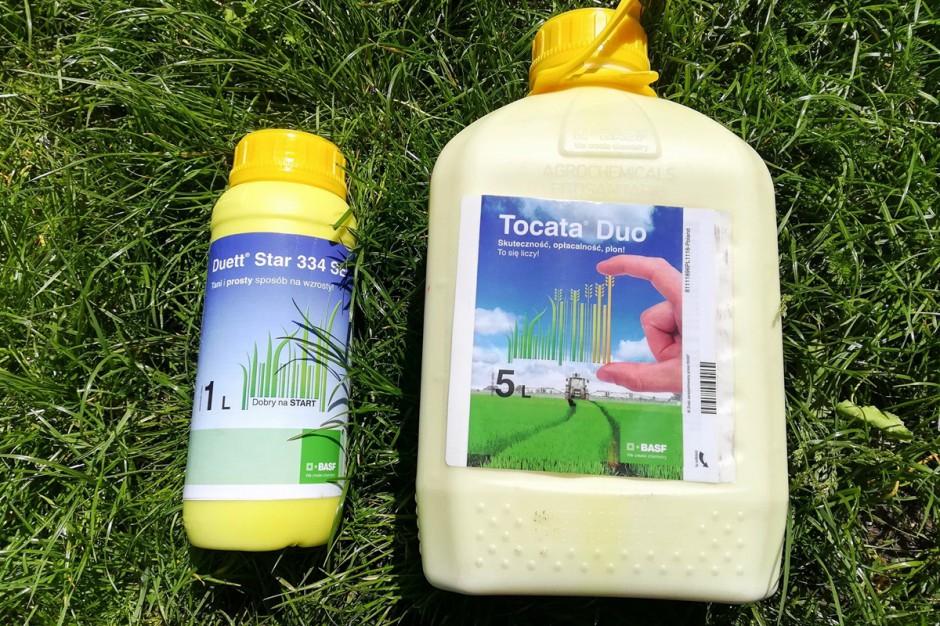 Liczę na to, że system ochrony Duett Star 334 SE + Tocata Duo zapewni wysoką zdrowotność liści pszenicy